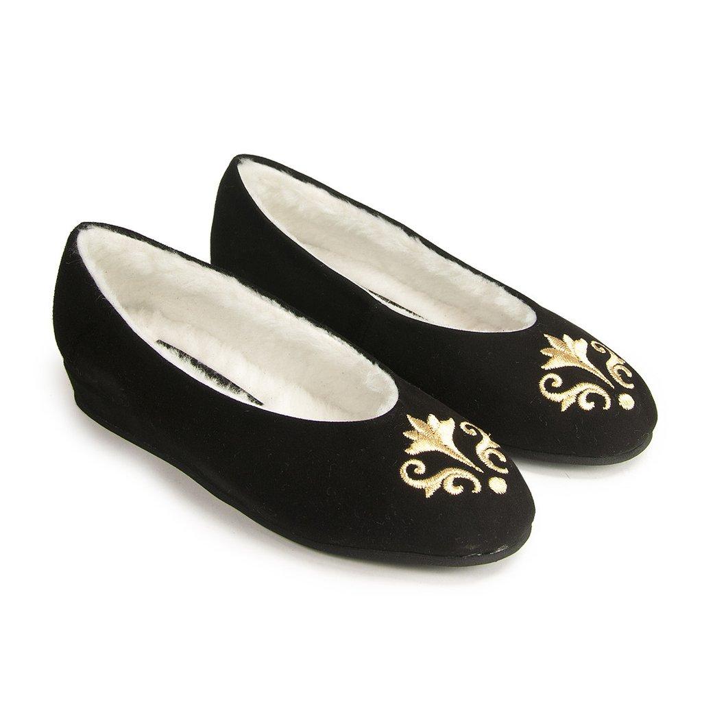 ee3e85aca JACQUES LEVINE women s BEL ESPRIT slippers - footlightshoes.com